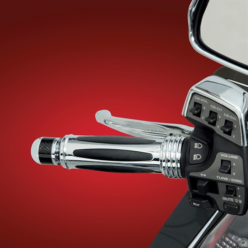 Heated Grips on Bike