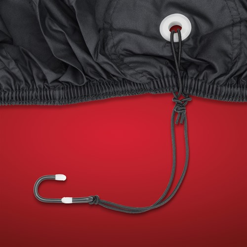 Hem and Coated Hooks with Rust Proof Grommets