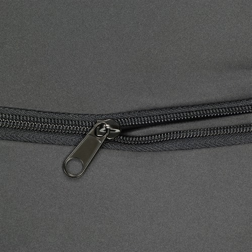 Windshield and Backrest Expanding Pocket Zipper Detail
