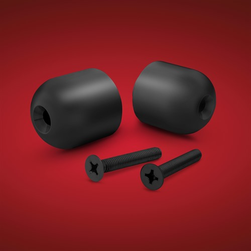 Satin Black Handlebar Weights for Spyder