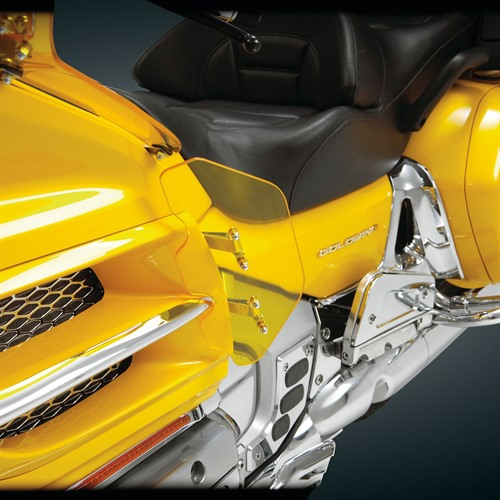 Lower Side Fairing Yellow Wind Deflector