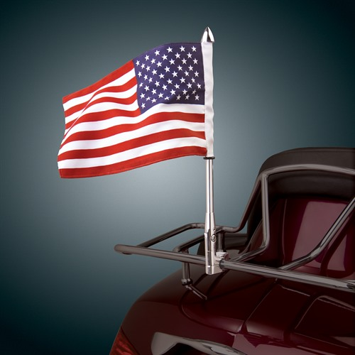 Show Chrome Accessories 52 729 12 Quot Tall Flag Mount With 6