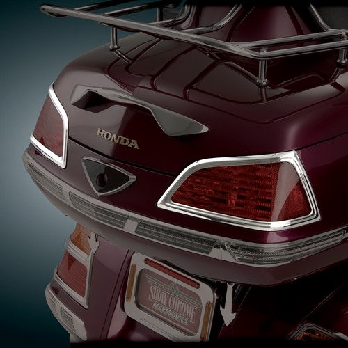 Trunk Lens Grilles on Bike