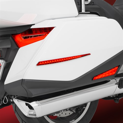 GT Saddlebag Side Accent Lights Add Safety to GL1800 Gold Wing