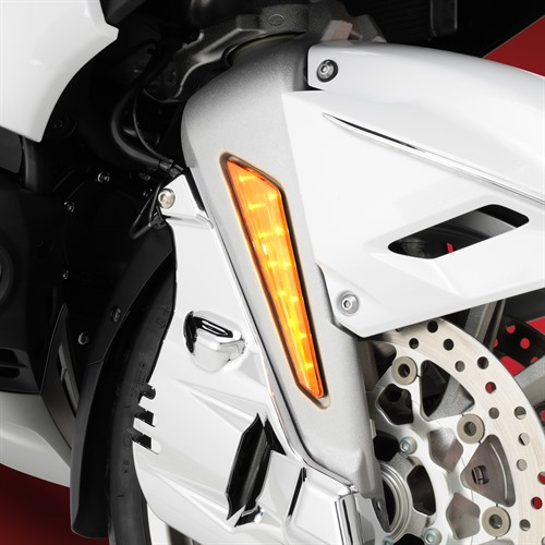 Dual Function Marker Light with Amber or Red Lenses