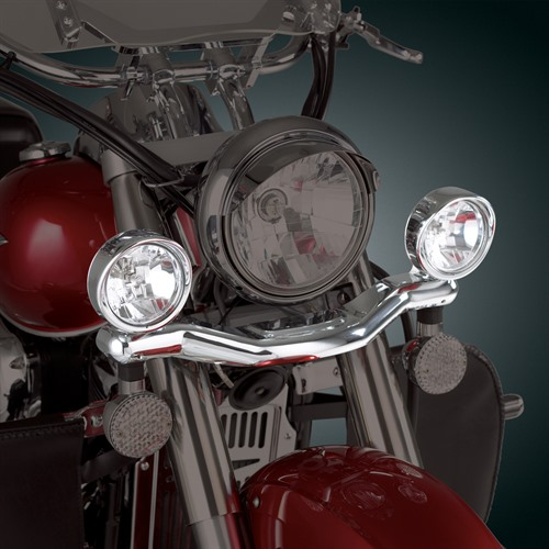 Contour Driving Light Kit on Bike