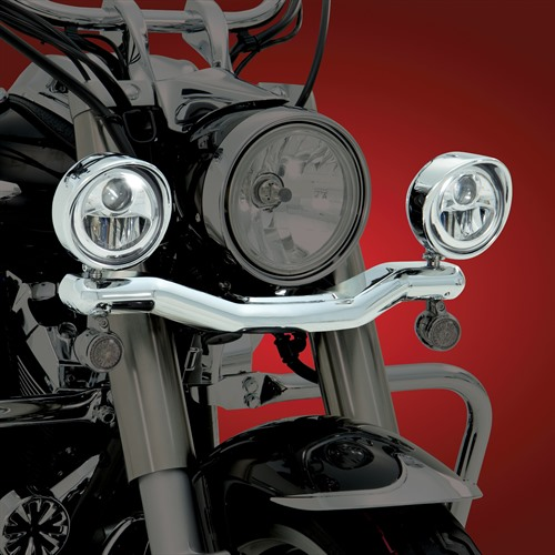 LED Contours Light Bar on Bike