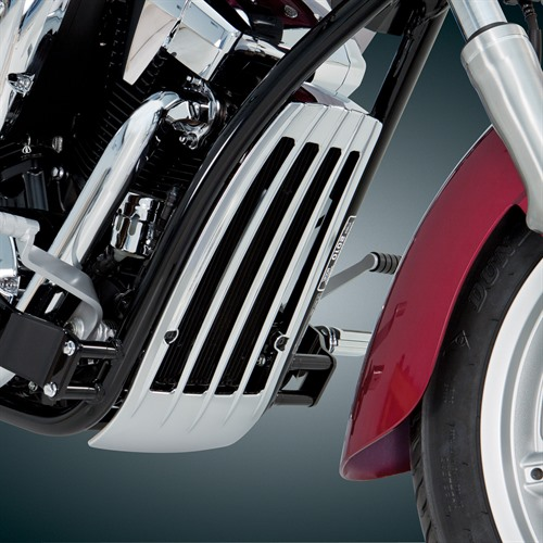 Radiator Grille on Bike