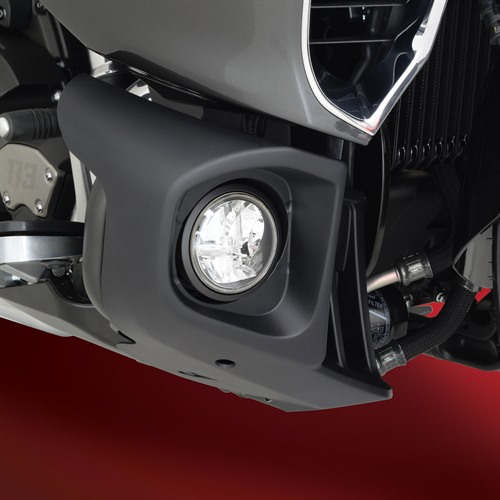 Fog Light Kit on Yamaha Venture (Side View OFF)
