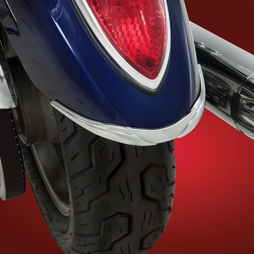 Rear Fender Accent on Bike