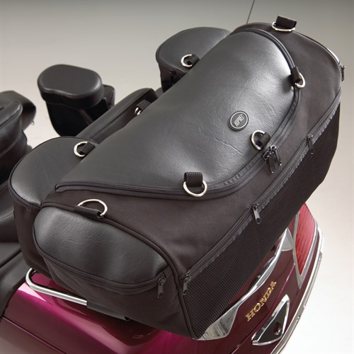 Deluxe Rack Bag on Bike