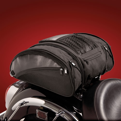 Deluxe Solo Rack Bag on Bike