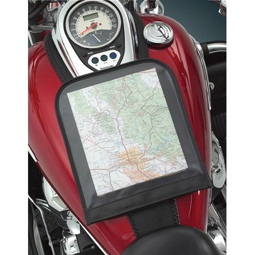 Map Pouch on Bike