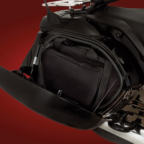 Range Saddlebag on Bike