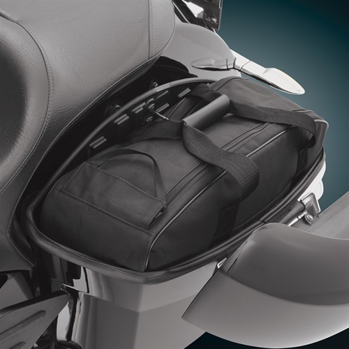 Saddlebag Liner on Victory Cross Country