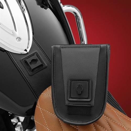 Tank Pouch on Indian Roadmaster (Pouch Detached)