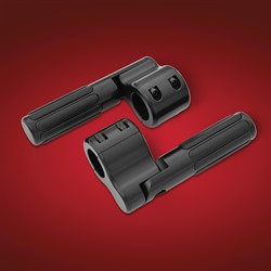 Black Satin Highway Bar Pegs From Big Bike Parts®