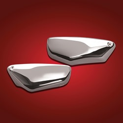 CHROME SIDE COVERS C90