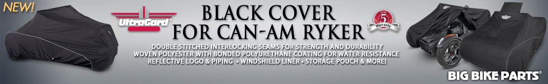 UltraGard Black Classic Cover For Can-Am Ryker - 