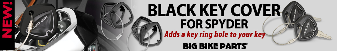 Can-Am Spyder Key Covers (pair) - 