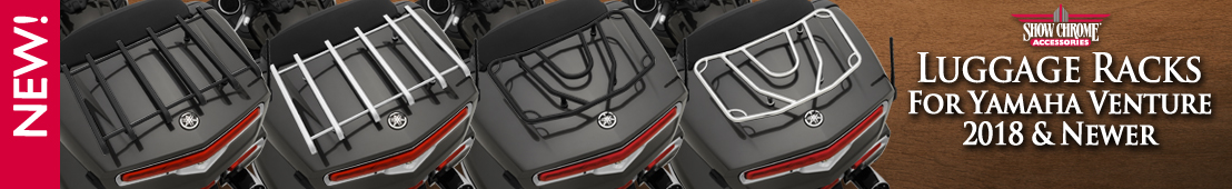 Luggage Racks for Yamaha Venture 2018-  