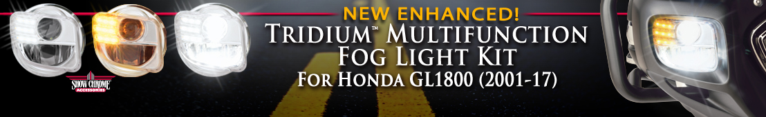 Tridium Multifunction Fog Lights For Honda GL1800 - 