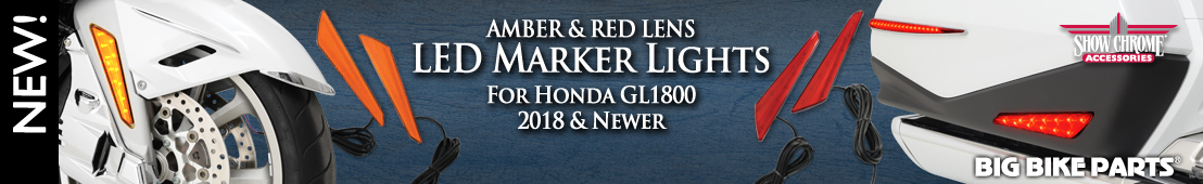 LED Marker Lights For Honda GL1800 (2018 and newer) - 